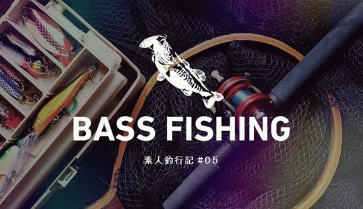 【バス釣り】素人釣行記#05 冬の利根川オカッパリ