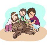爬虫類だけの動物園「iZoo(イズー)」は子供連れでも楽しめるけどベビーカーは辛いかも…