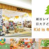 イオンレイクタウン『Kid is(キッドイズ)』子供が体全身で楽しめる室内遊び場